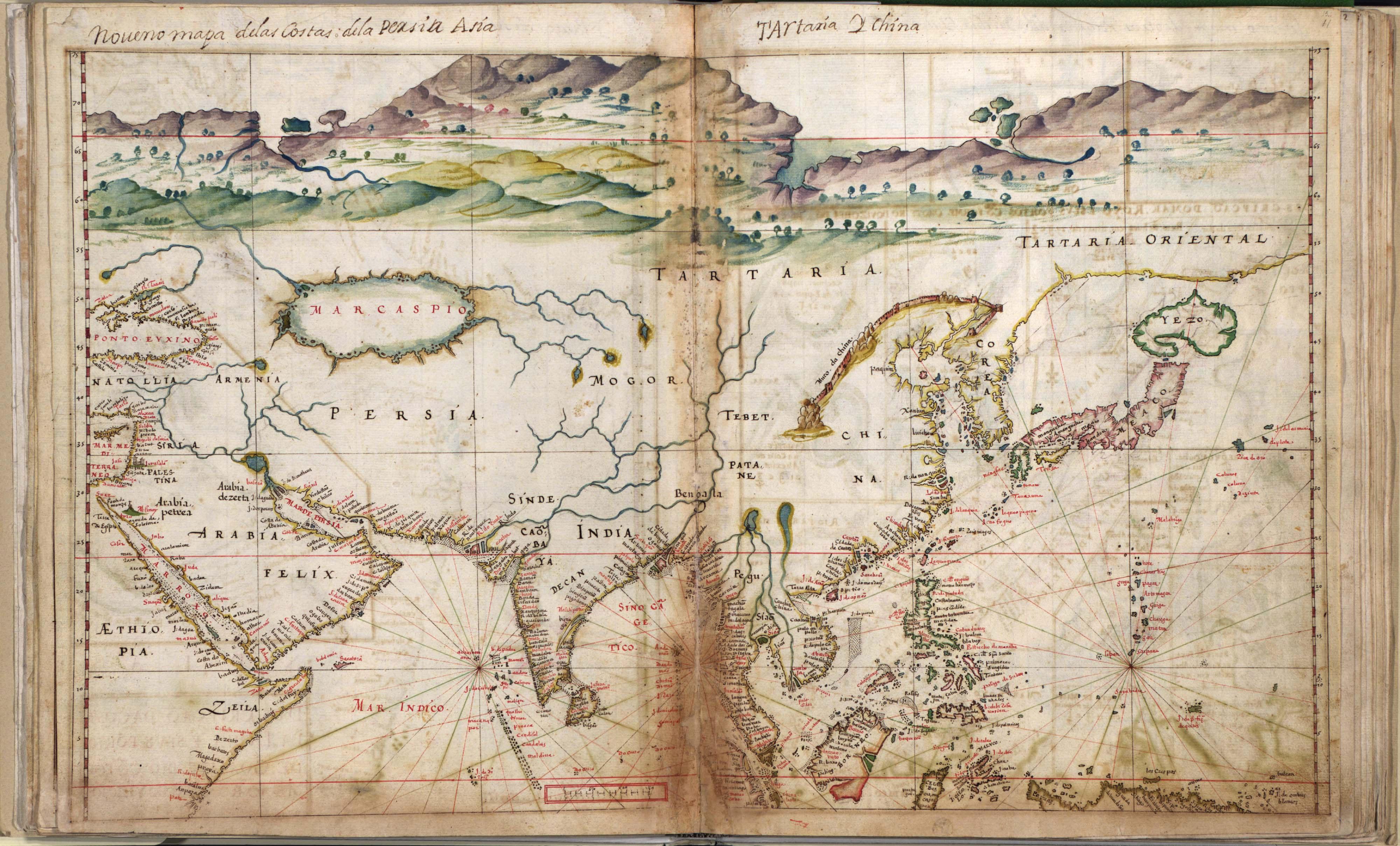 Carte de l'Asie (1630)