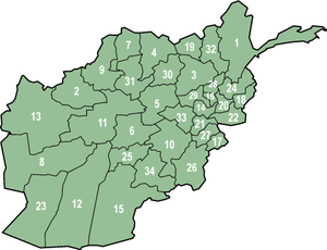 Provinces afghanes