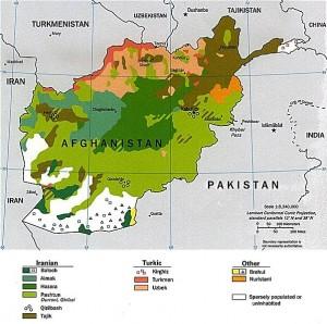 Groupes ethniques de l'Afghanistan