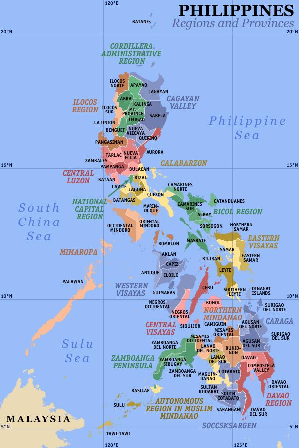 Divisions des Philippines