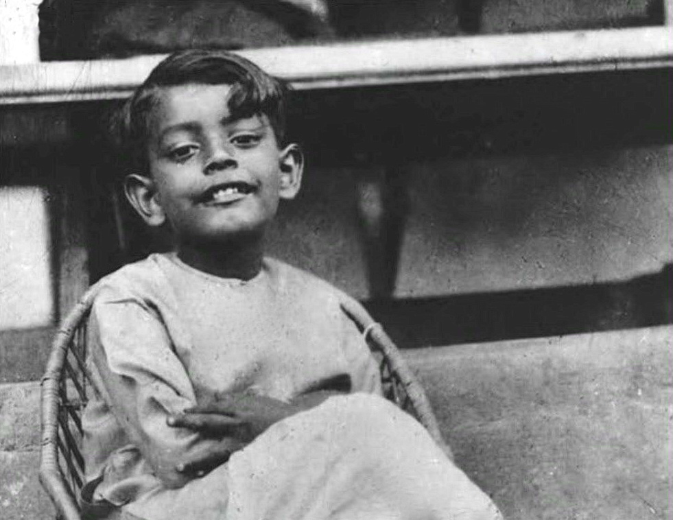 Satyajit Ray en 1930.