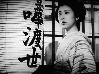 Keiko Tsushima en 1952 dans le film Mazō.