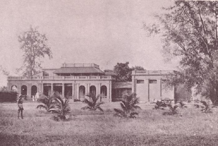 La société théosophique à Adyar, Inde, 1890