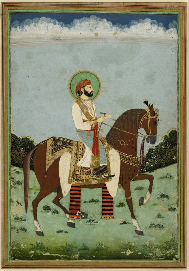 Jai Singh II vers 1725, à Jaipur