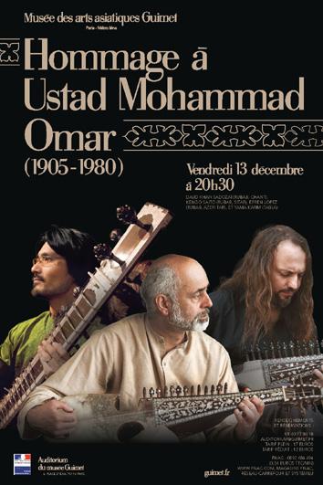 Concert en hommage à Ustad Mohammad Omar