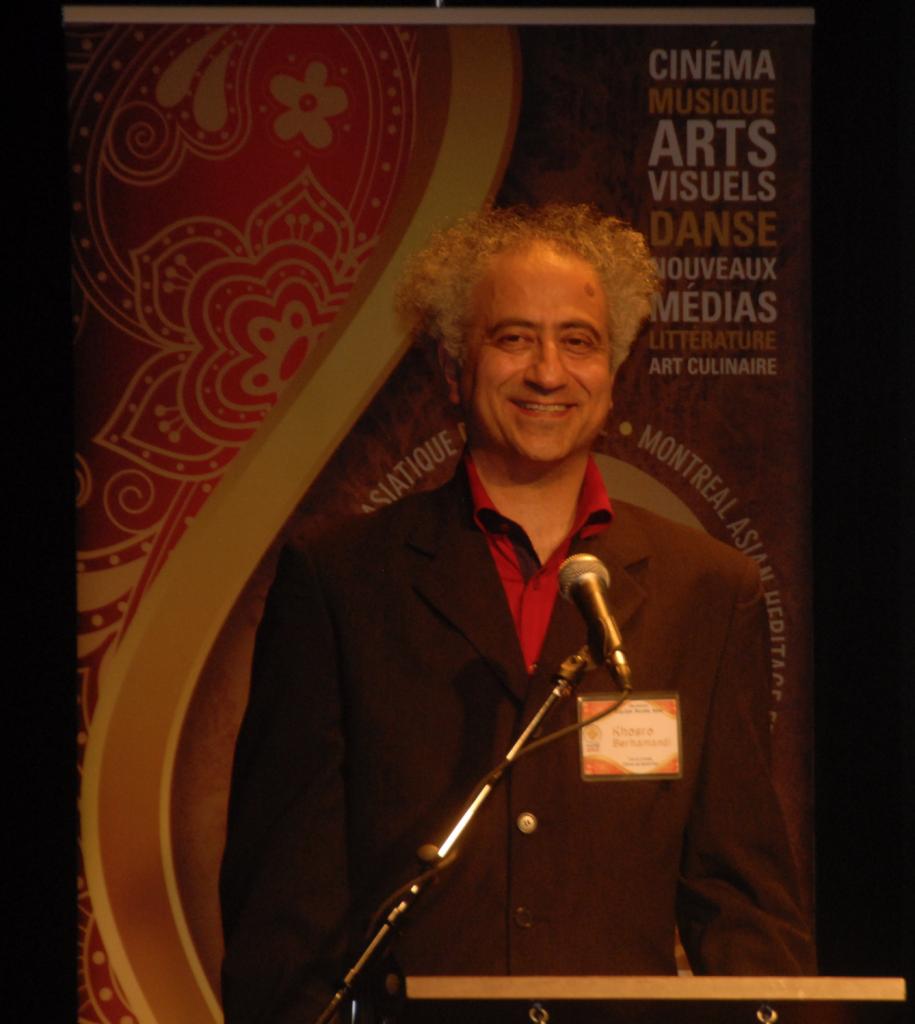 Khosro Berahmandi, le directeur d'Accès Asie.