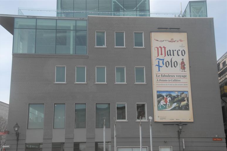 L'exposition Marco Polo à Pointe-à-Callière.