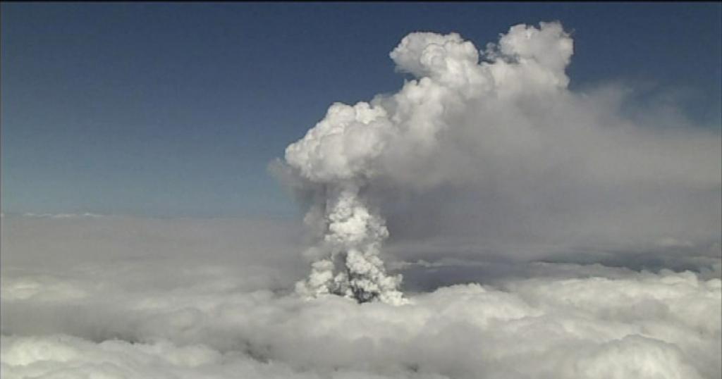 Éruption du Mont Otake, le 27 septembre 2014
