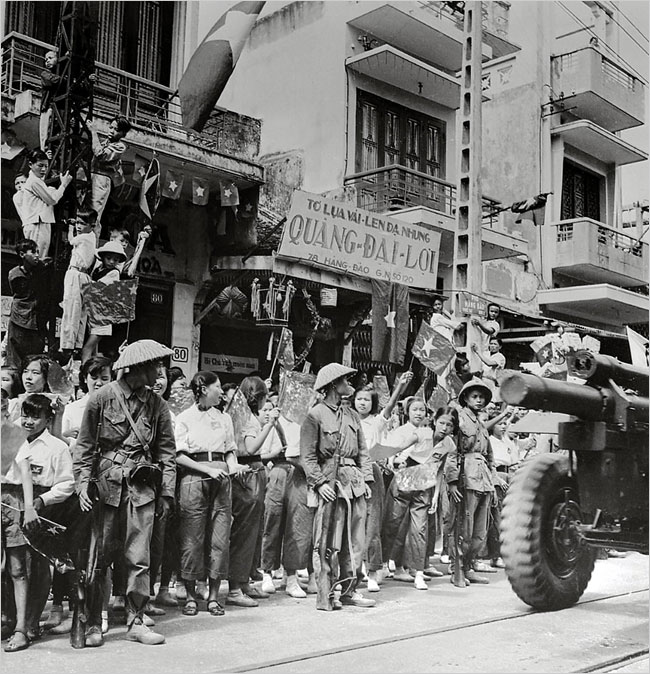 La libération de Hanoi.