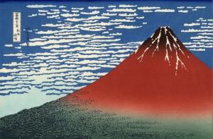 Le mont Fuji au petit matin