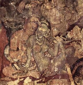 Mural painting, Ajanta Cave