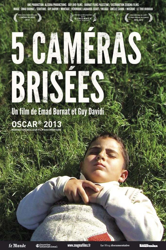 Affiche de 5 caméras brisées