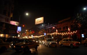 Christmas Eve in Kolkata
