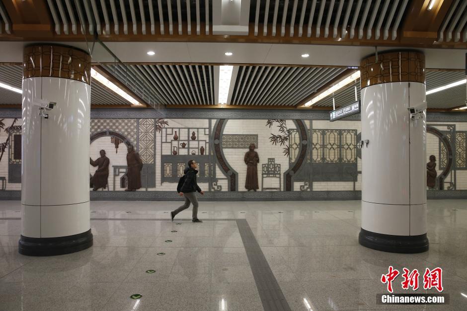 Couloir du nouveau métro