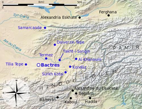 Bactriane et Aï Khanoum