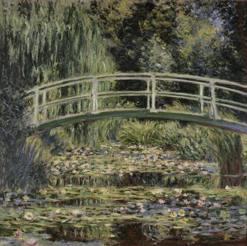 «Le bassin aux nymphéas», 1899. Huile sur toile, State Pushkin Museum of Fine Arts, Moscou