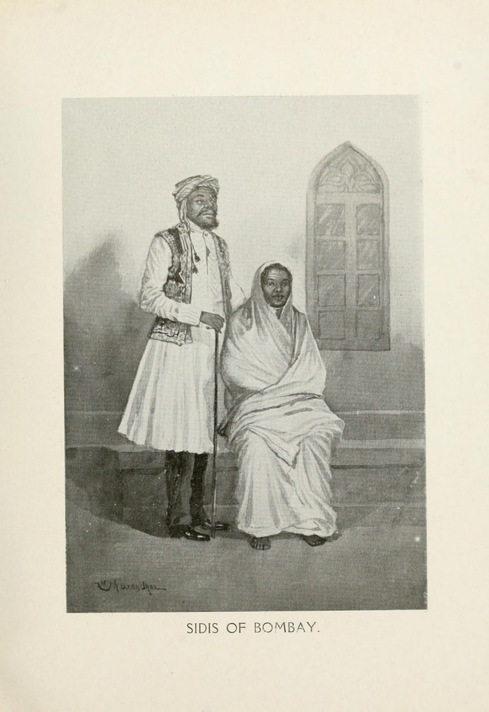 Illustrations de M. V. Dhurandhar pour le livre « By The Ways of Bombay » - 1912
