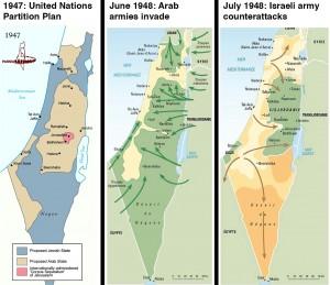 La guerre israëlo-arabe de 1948