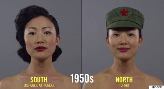 La Coréenne en 1950.
