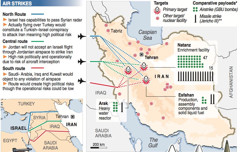 Sites nucléaires iraniens