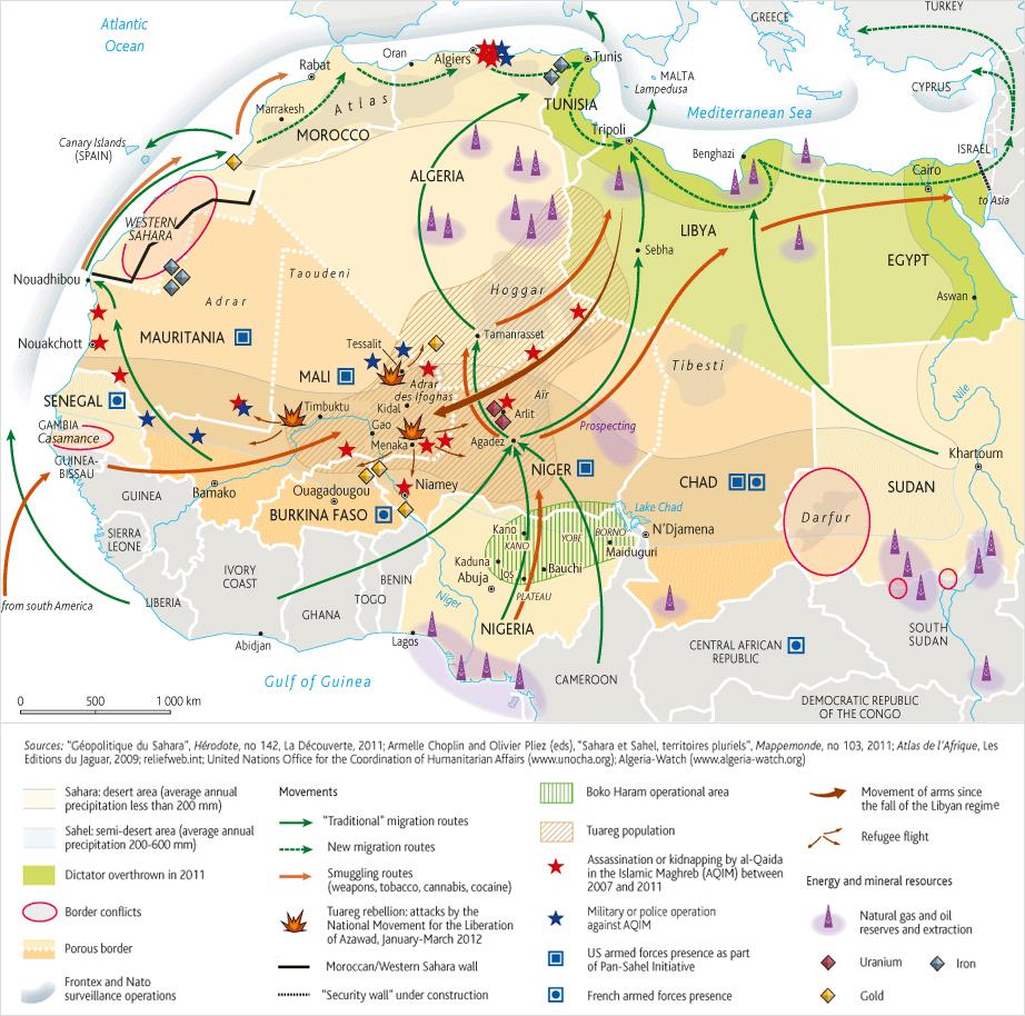 Les conséquences de la chute de Kadhafi