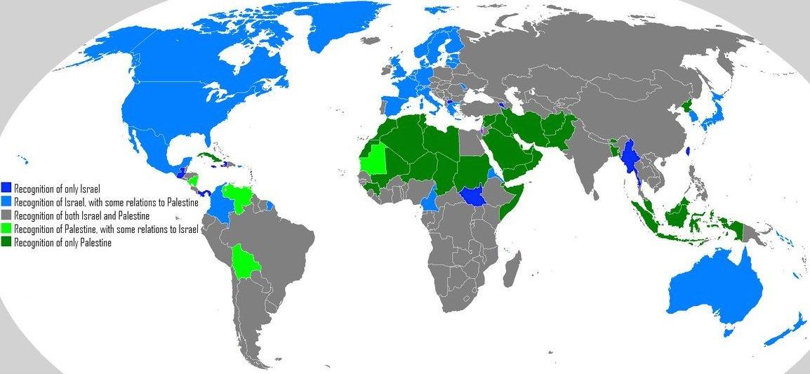 Reconnaissance d'Israël et de la Palestine
