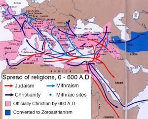 Expansion des religions