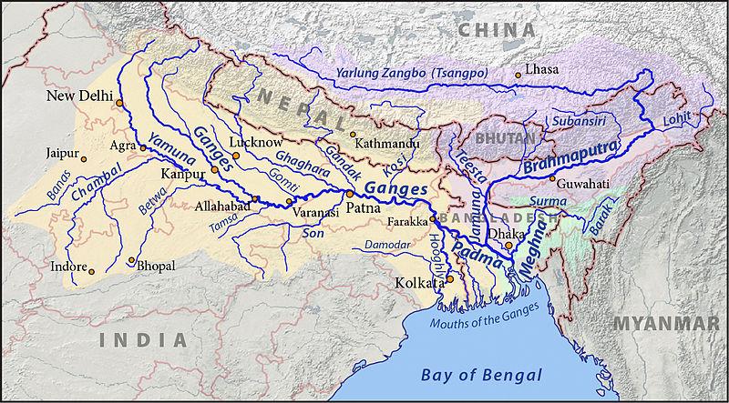 Les bassins du Gange, du Brahmapoutre et de la Meghna_basins