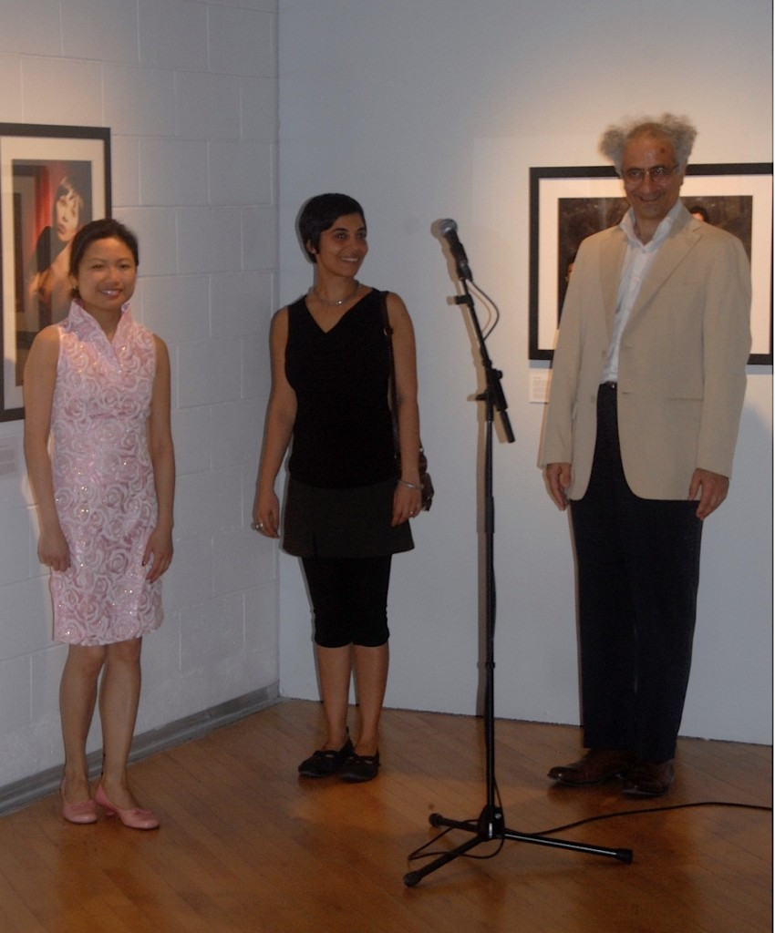 Florence So, Kiran Ambwani et Khosro Berahmandi