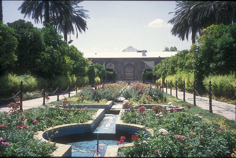 Le jardin de Narenjestan e Ghavam