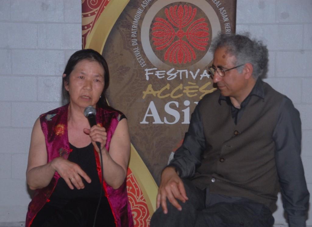 Janet Lumb et Khosro Behramandi