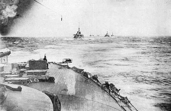 Le départ de la flotte impériale japonaise