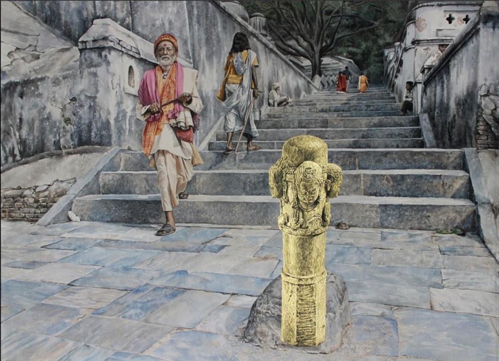 Reconstitution d'une statue volée