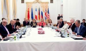 L'accord sur le nucléaire, le 13 juillet 2015 à Vienne.