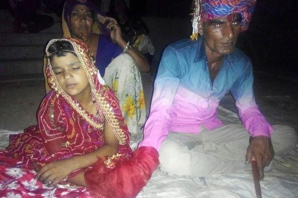 Le mariage d'une fillette de 6 ans, au Rajasthan