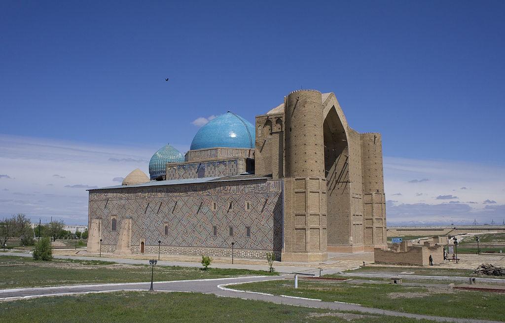 Lemausolee de Khoja Ahmad Yasawi