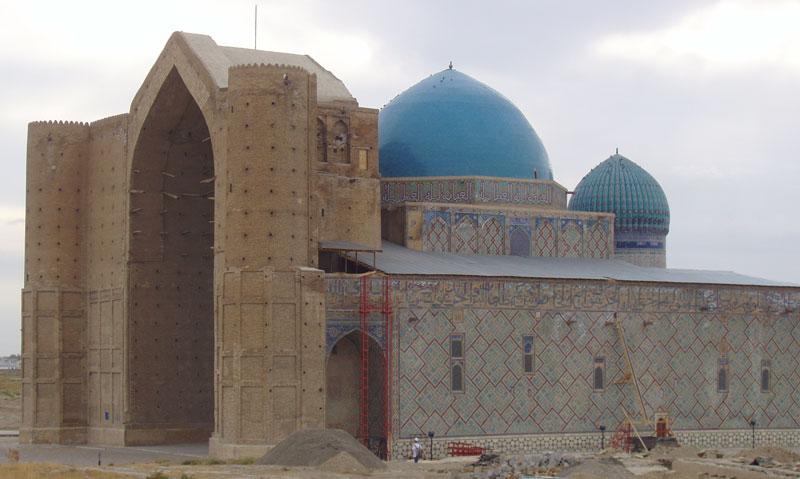 Le mausolée en 2007