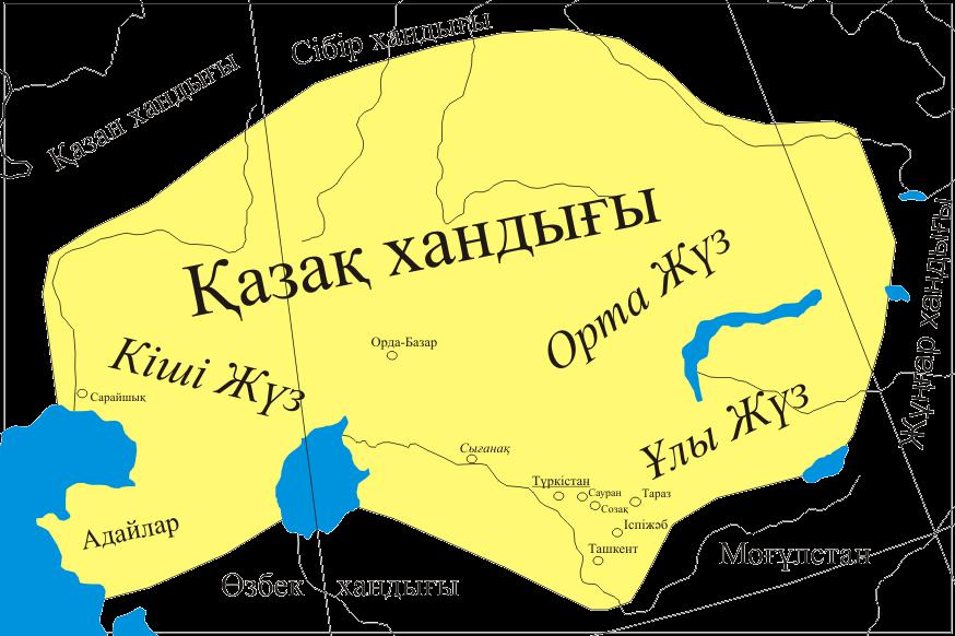 Le khanat kazakh