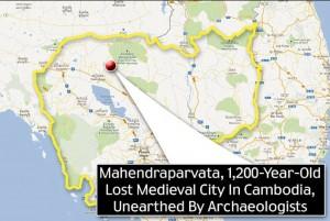 Situation de Mahendraparvata