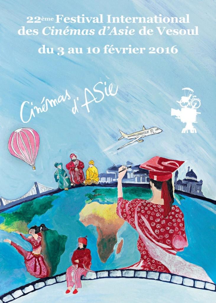 Affiche du 22e Festival de Vesoul