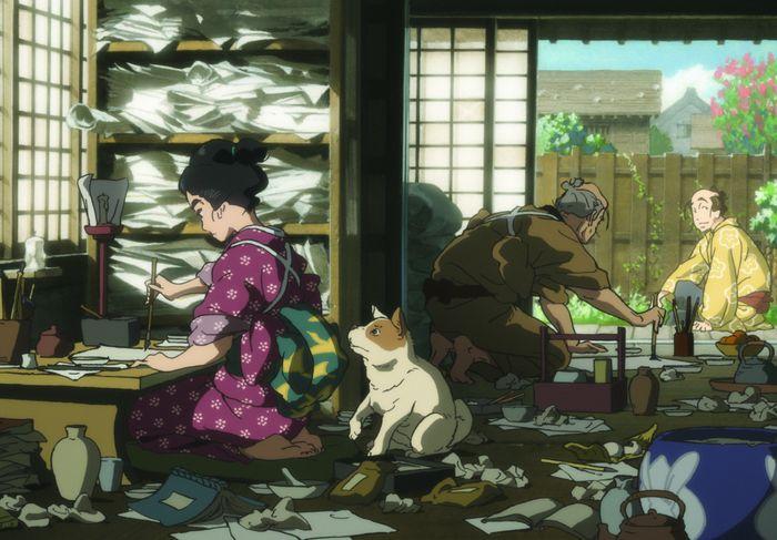 Miss Hokusai (Sarusuberi: Miss Hokusai)