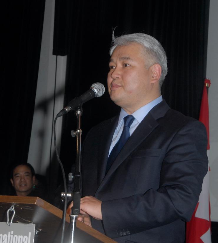 L'ambassadeur de Mongolie