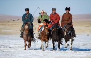 Cavaliers mongols