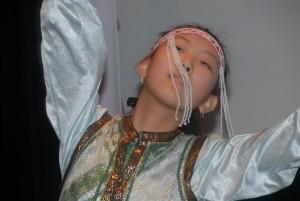 Jeune danseuse mongole