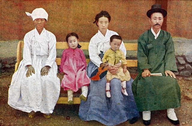 Famille coréenne