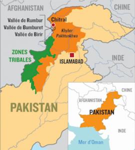 Répartition des Kalash