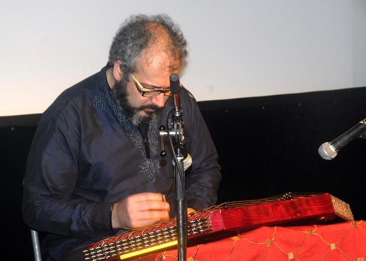 Amir Amiri au santour