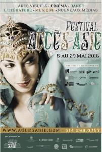 Affiche du Festival Accès Asie 2016