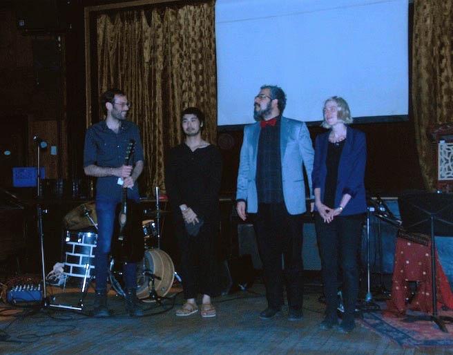 Les musiciens de Conseil spirituel