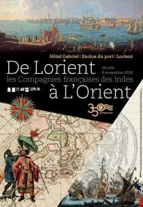 Affiche de Lorient à l'Orient